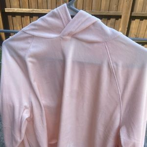 Pink Soft and fuzzy sweatshirt for winter. Size L